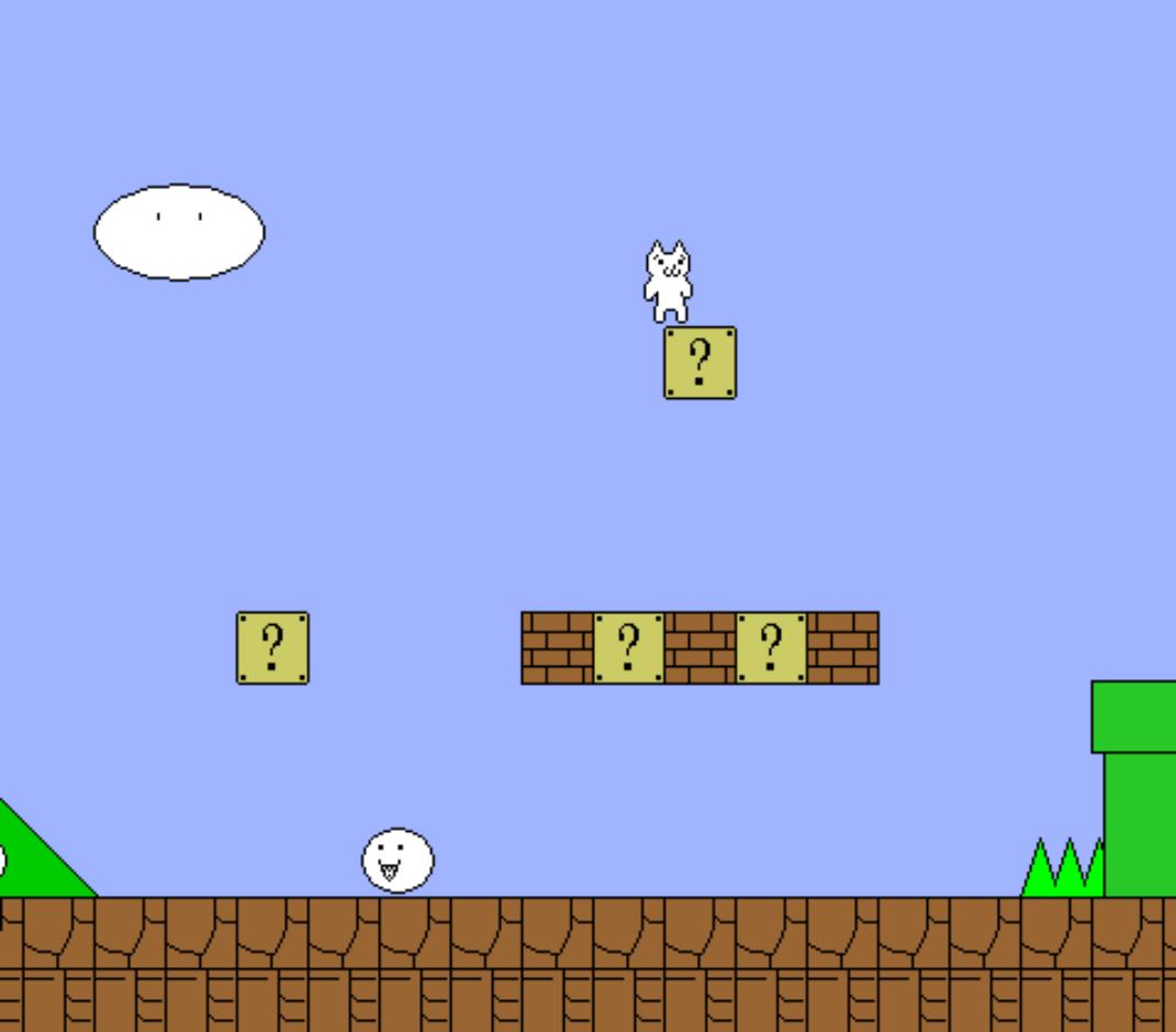 变态猫版超级玛丽_单机游戏大全